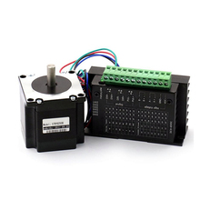 Nema 23 Stepper Motor 57mm 3A Drive TB6600 for laser 3D printer router cnc 57mm gearbox geared stepper motor ratio 10 1 nema23 l 56mm 3a cnc router
