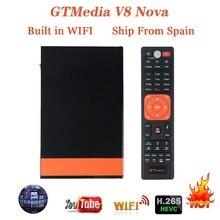 Stable GTMEDIA V8 NOVA Full HD Satellite TV Receiver Built-in WIFI USB 2.0 High Speed Host HD DVB-S2 Complian Satellite Decoder