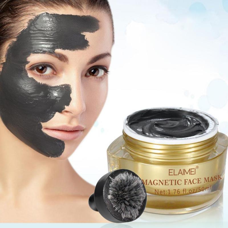 Creative Magnetic Face Mask Pore Cleansing Removes Skin Impurities Firming Moisturizing Blackhead Removal Mask