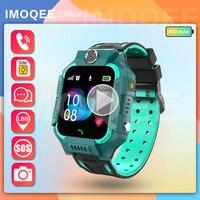 חכם שעון ילדים gps לילדים SOS שיחת טלפון שעון Smartwatch להשתמש ה-sim כרטיס תמונה עמיד למים IP67 ילדים מתנה עבור IOS אנדרואיד
