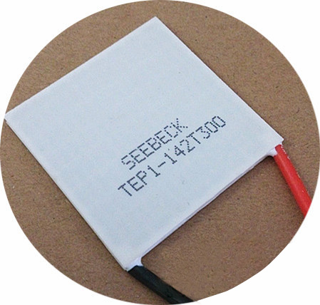 2pcs Thermal Power Generation Sheet TEP1-142T300 40*40 300degree Temperature Resistance Thermal Conductivity