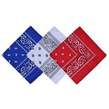 Новый носовой платок с двусторонним принтом для мужчин и женщин