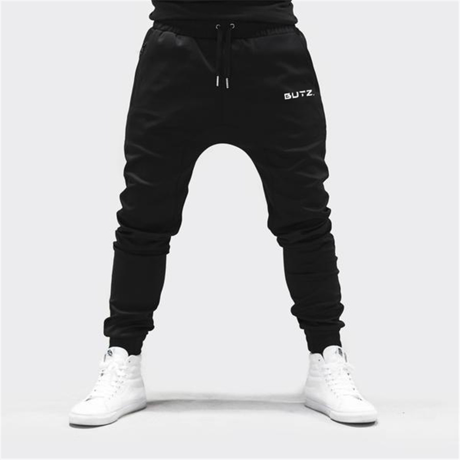 Muscle Fitness Brothers New Style 2018 Autumn And Winter MEN'S Casual Pants Cotton Men Outdoor Running Athletic Pants Customizab