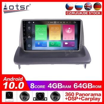 Android 10.0 GPS Navigation Radio Player for VOLVO C30 S40 C70 2006-2012 Video Player Stereo Headuint free Built in Carplay dsp image