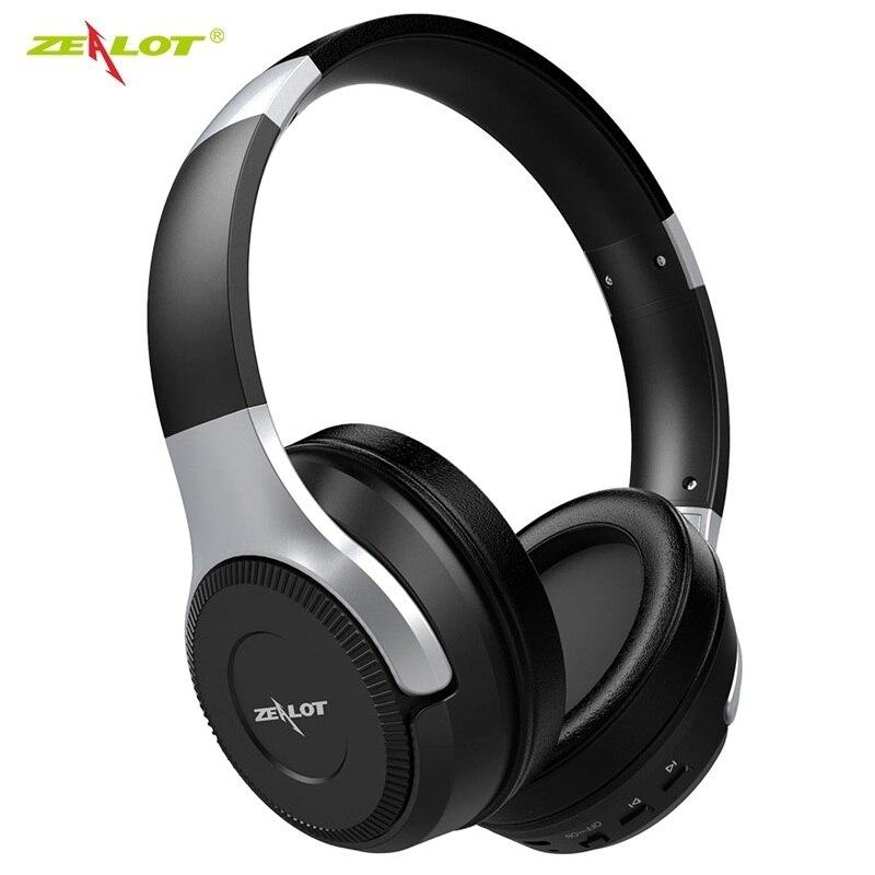 Casque sans fil de Bluetooth de suppression de bruit Active de zèle B26 10 heures de temps casque de Bluetooth avec la basse profonde superbe de HiFi
