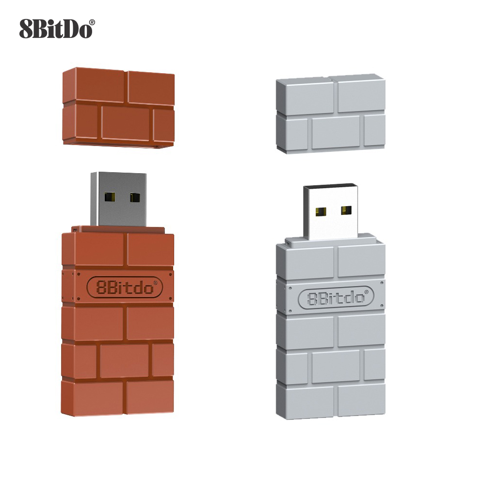 8Bitdo USB Wireless Bluetooth Adapter Receiver For Windows Mac For Nintend Switch For PS3 Controller For Windows Mac