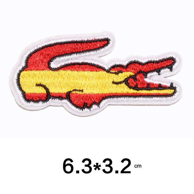 Spain Flag Embroidered Patches For Clothes Iron On Fabric Badges