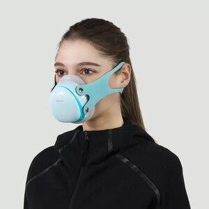 Image 3 - Youpin Hootim Elektrische Anti Waas Steriliseren Masker Biedt Actieve Air Supply Elektrische Masker Voor Herfst Winter Fog
