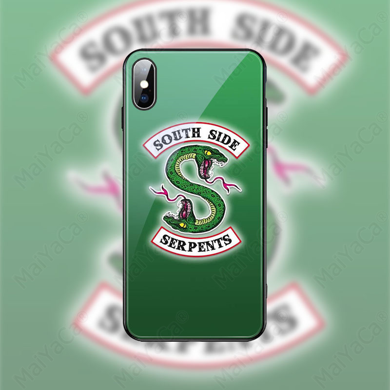 MaiYaCa American Hot TV Riverdale Newest Super Cute Phone Case for Apple iPhone 8 7 6 6S Plus X XS MAX XR Cover in Half wrapped Cases from Cellphones Telecommunications