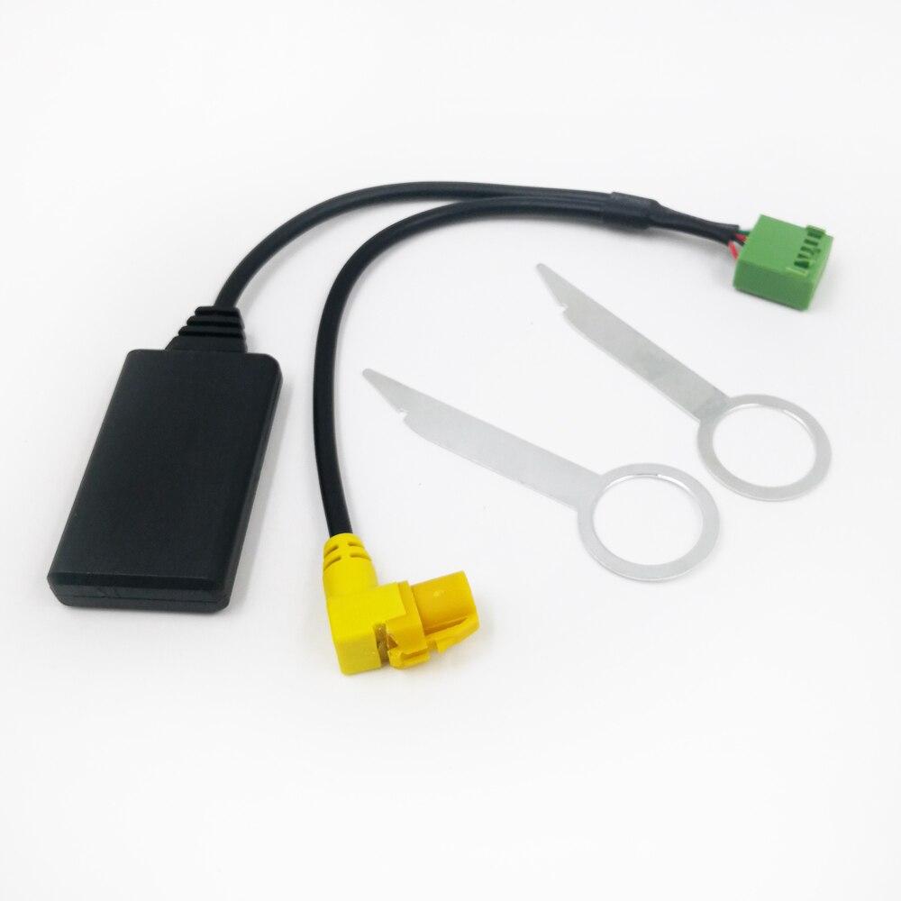 Biurlink MMI 3G AMI 12-контактный Bluetooth 5,0 AUX кабель адаптер Беспроводной аудио Вход для Audi A4 A6 Q5 Q7 A5 S5