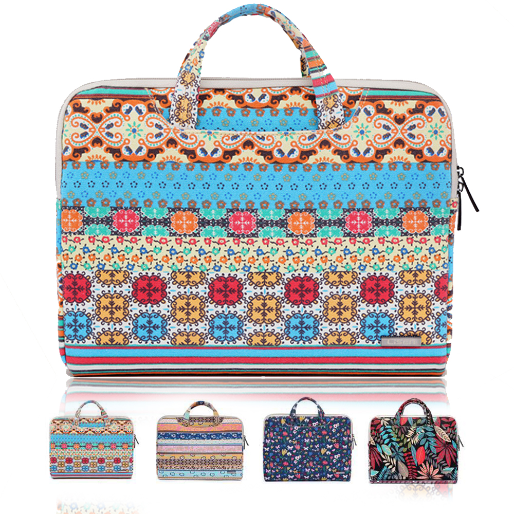 Laptop Bag 11.6/13.3/15.6 Inches Bohemian Style Laptop Sleeve Case Bag For MacBook / Surface Book / Notebook Computer