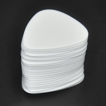 Lots of 100pcs White Heavy 1mm Gauge Delrin Guitar Bass Picks Plectrums lots of 50pcs 3mm small heart guitar picks plectrums for electric guitar jazz bass assorted colors