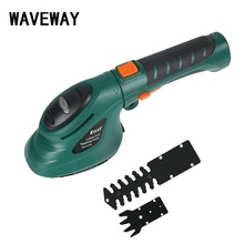 Gardening Garden Power Tool 3.6V 2 in 1 Li-Ion Battery Lawn Hedge Trimmer Pruning Electric Weeder Rechargeable Fence Scissors