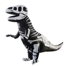 Inflatable Skull Dinosaur Costume T-REX Adult Jurassic Cosplay Suit Gift Dinosaur Inflatable Suit cosplay halloween party game adult children inflatable suit tyrannosaurus rex dinosaur inflatable clothes show props