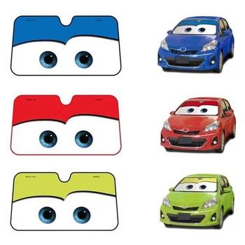 6 Color Cute Cartoon Eyes Car Windshield Sunshade Auto Window Windscreen Cover Sun Shade Car-covers Car Solar Protection