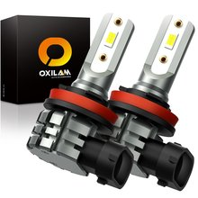 Ampoules antibrouillard LED pour Nissan Qashqai J10 Juke Pathfinder R51 Mazda 6 GH GG Honda Accord 8, 2x H11 H8 H10 9006 HB4 9005 HB3