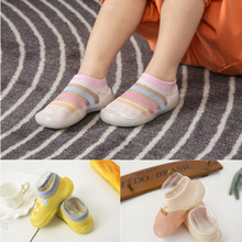Infant Baby Shoes Anti-slip Soft Bottom Silicone First Walke