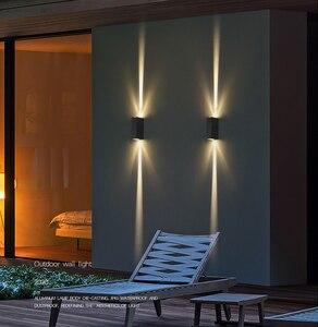 Image 3 - Led 벽 램프 머리맡 램프 침실 거실 벽 램프 현대 간단한 크리 에이 티브 복도 호텔 크로스 스타 벽 빛 ac85 265v