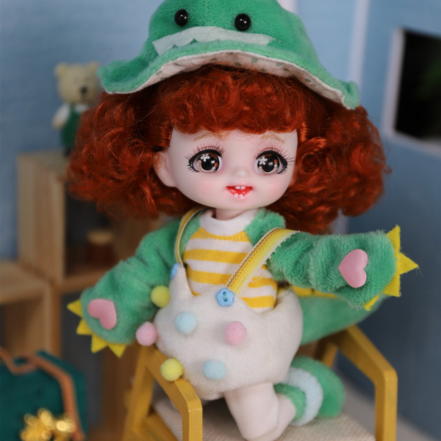 DBS DREAM FAIRY Doll 1/8 BJD anime girls Name by Pokect mechanical joint Body With makeup ob11 SD 3