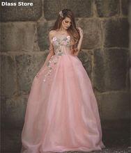 Женское вечернее платье с одним открытым плечом розовое ТРАПЕЦИЕВИДНОЕ