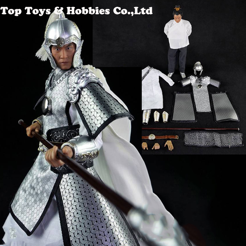 IN stock  full set1/6 Scale Ancient Soldiers Three kingdom Zhao Yun Model for Fans Holiday Gifts