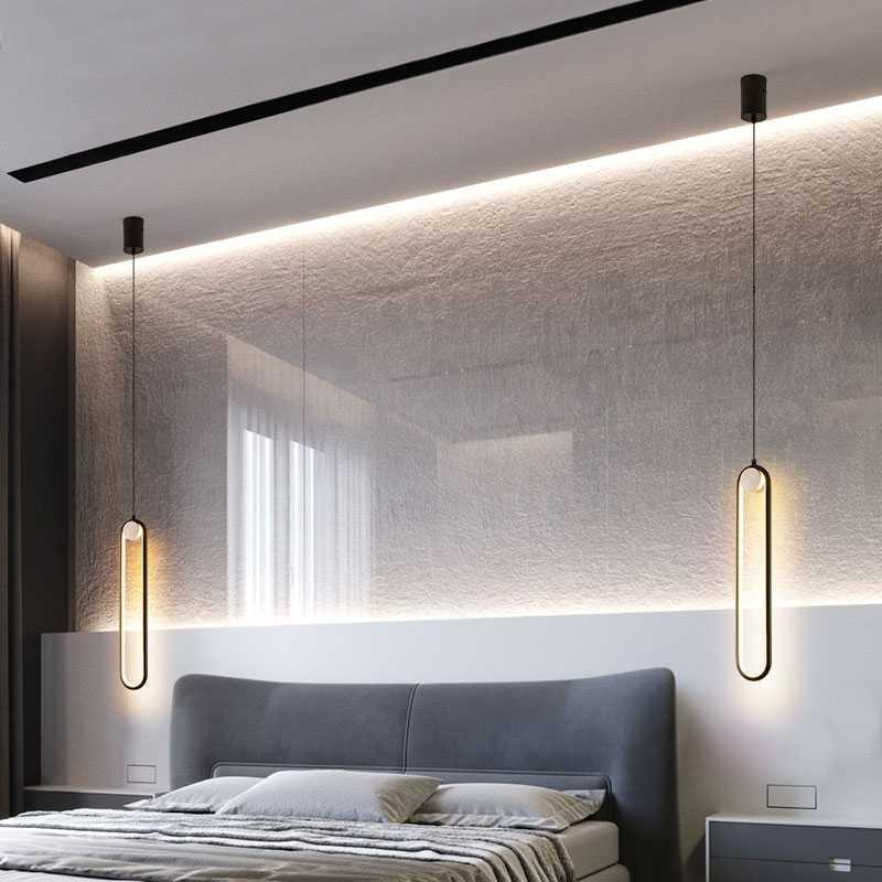 Nordic LED <font><b>pendant</b></font> <font><b>lights</b></font> Home Bedroom Decoration Bedside <font><b>Pendant</b></font> Lamps Living Room Lamp Loft Hang lamp Indoor Lighting Hanging image