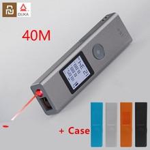Nuovo disponibile Youpin Duka 40m Laser range finder LS P/LS5 USB flash ricarica Range Finder telemetro di misurazione ad alta precisione
