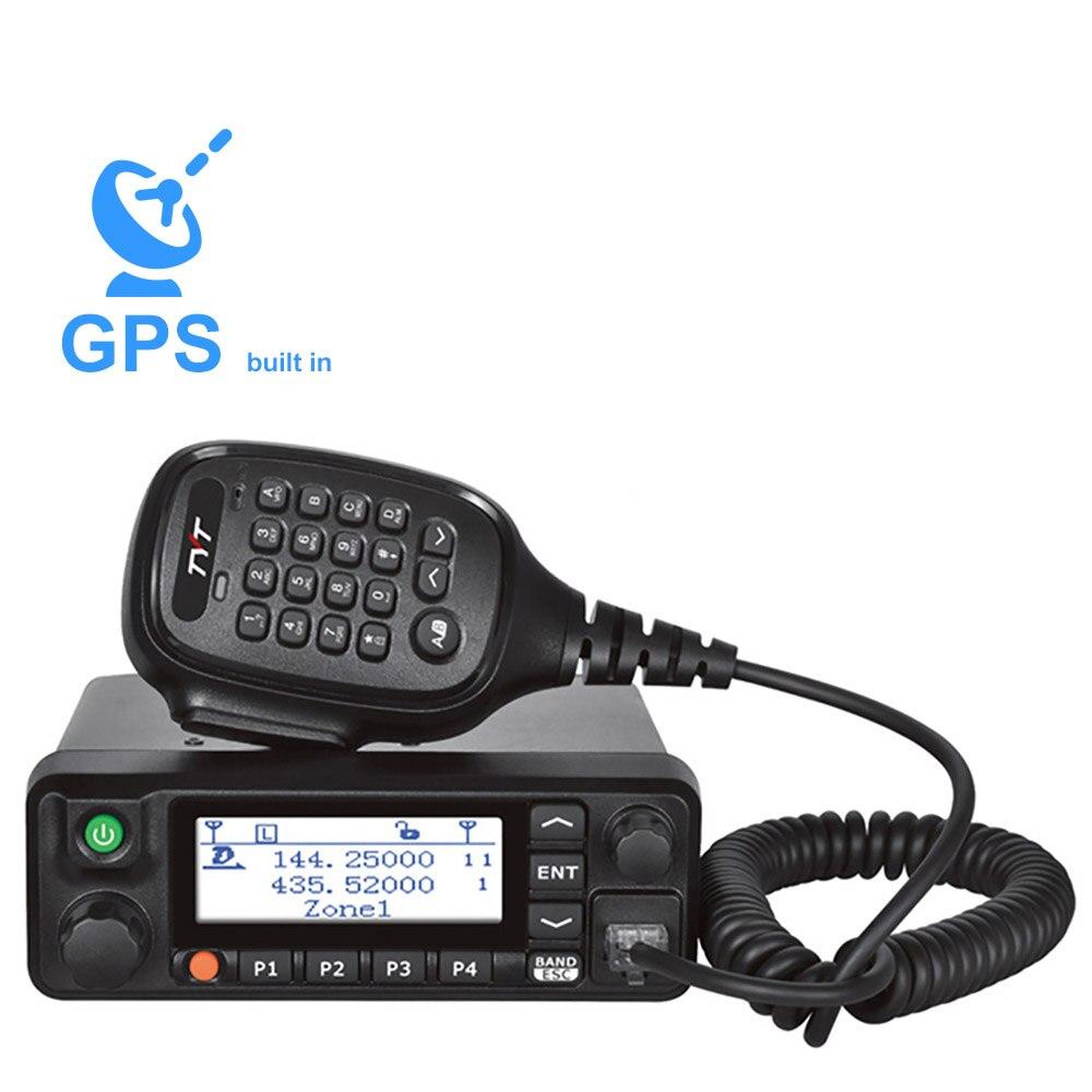 TYT MD-9600 50 KM Dual Band Mobile DMR Auto Digital Radio 136-174 / 400-480MHz Walkie Talkie RT90 DMR Radio 3000CH 50/45 / 25W F