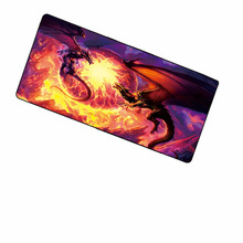 Shop Dragon Free Shipping Locking Edge Large Gaming Mouse Pad Mats for PC Computer Laptop