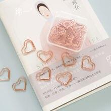Канцелярские товары розовое Золотое любовное сердце пресс папье