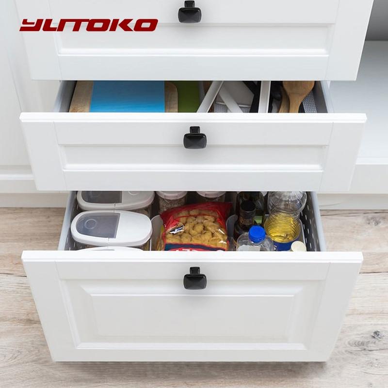 6pcs Drawer Dresser Cupboard Wardrobe Hardware Aluminium Pull Handle 100mm Long