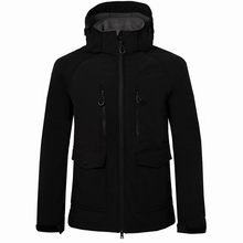 Mens Hiking Jacket Autumn Winter Casual Fashion Waterproof Keep-warm Sport Outdoor Long Coat Zip Jackets Camping Fishing Coats(China)