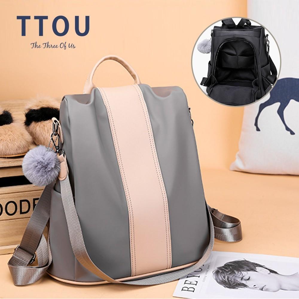 Модный женский рюкзак, рюкзак из искусственной кожи, сумки на плечо, рюкзак с защитой от кражи для подростков, женский рюкзак с помпоном, женский рюкзак| | | АлиЭкспресс