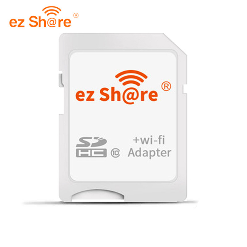 Ez Share Wifi Sd Card Adapter Class10 Sdhc Wireless For Micro Sd Memory Card Reader Flash Available For Canon/nikon/sony DSLR
