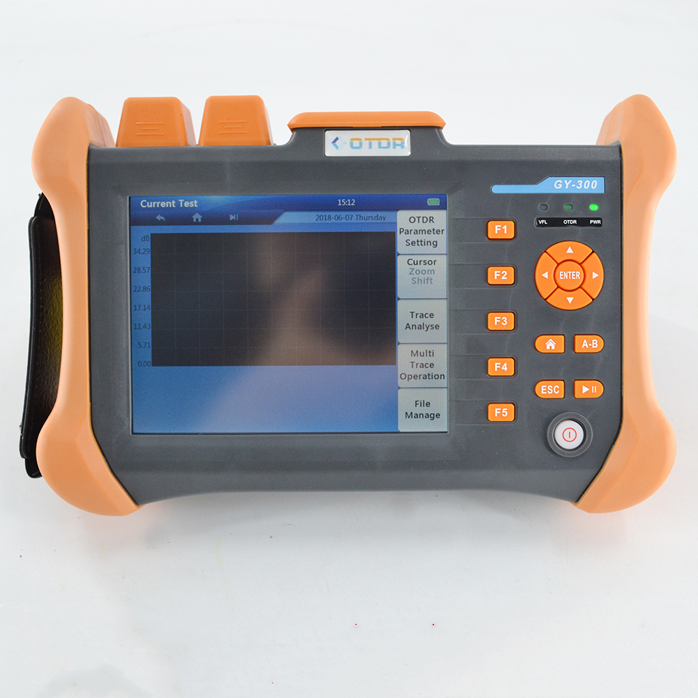 Image 5 - TMO 300 SM 32/30dB 1310/1550nm SM OTDR Tester Built in 10mW VFL Optical Fiber Test-in Fiber Optic Equipments from Cellphones & Telecommunications