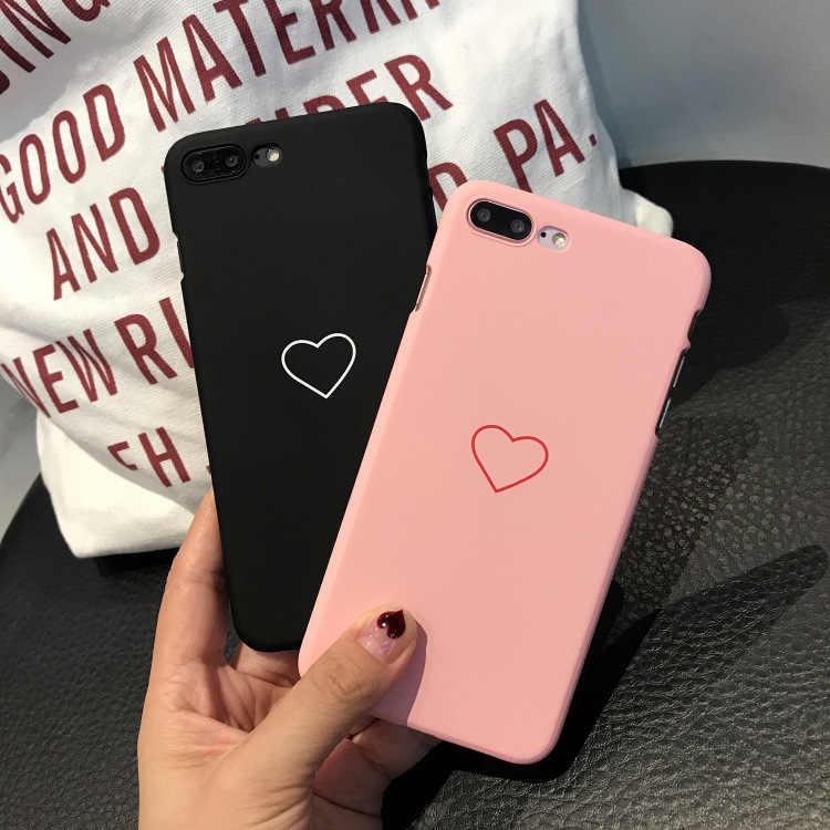 Per Coque iphone X 6 7 8 6 s 5 5s se Per Fundas iphone XR XS 11 pro Max 6 s 6 s 8 7 Più SE 2020 Della Copertura Della Cassa del Cuore di Amore di Caso