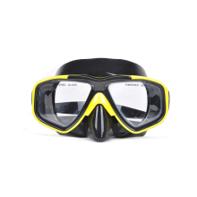 Free Shipping Fashion Diving Mask Snorkeling Sambo Breathing Tube Equipment/Blue