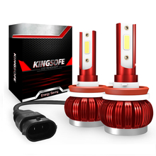 цена на 2x Car Light Bulbs LED H11 H1 H4 H7 9006 9005 Car Headlight Clod White 6000K 8000LM 35w12V 24V Headlamp COB Bulb Auto Fog Light
