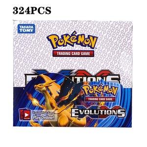 Image 5 - Juego de cartas de pokemon gx MEGA brillante para niños, juego de 324 uds, 100 uds, divertido francés e inglés, cartas de batalla