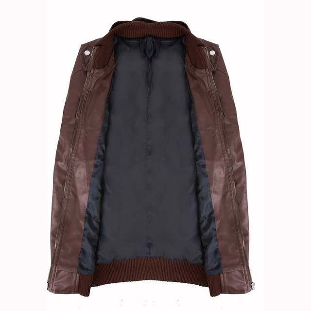Brown Leather Jacket 4