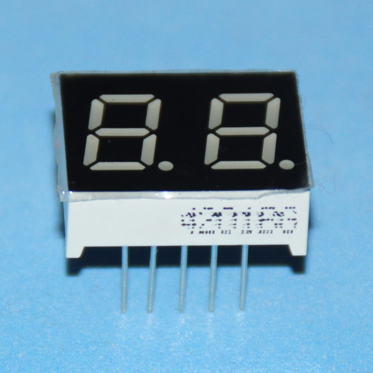 5pcs Display 7Segmento 2BIT Digital Tube 0.4inch LED Display Cube Signs Common Cathode Or Common Anode 0.4