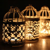 תלוי נרות מחזיק רטרו פמוט עבור בית מסיבת חתונה בציר פמוט תליית תפאורה פנס