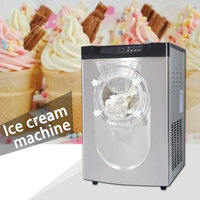 Commercial electric High capacity ice cream machine stainless steel Multifunction Double stirring Hard ice cream machine