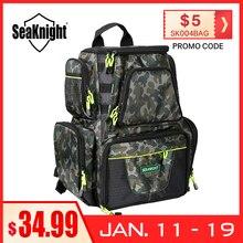 SeaKnight SK004 Fishing Bag 25L 7.5L Large Capacity Multifunctional Bag Backpack Outdoor Fishing Tackle Bag 44*41*20 /38*34*18cm