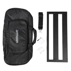 Image 3 - ammoon DB 2 Portable Guitar Pedal Board Aluminum Alloy with Carrying Bag Tapes Straps guitar accessories guitar pedal bag