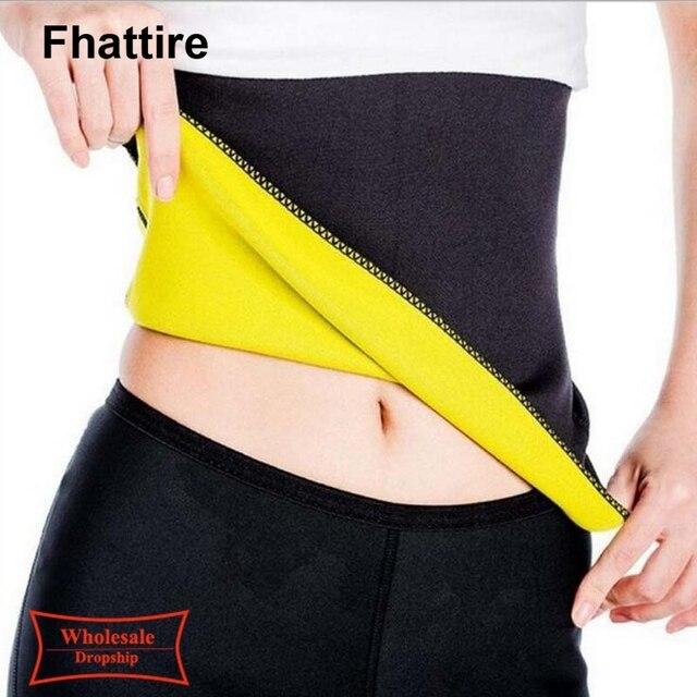 Plus Size Fitness Women Slimming Waist Belts Neoprene Body Shaper Training Corsets Cincher Trainer Promote Sweat Bodysuit 4