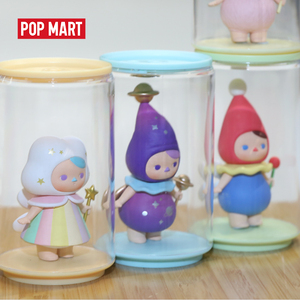 Image 2 - POPMART Toy Display Cans Random Plastic box gift free shipping