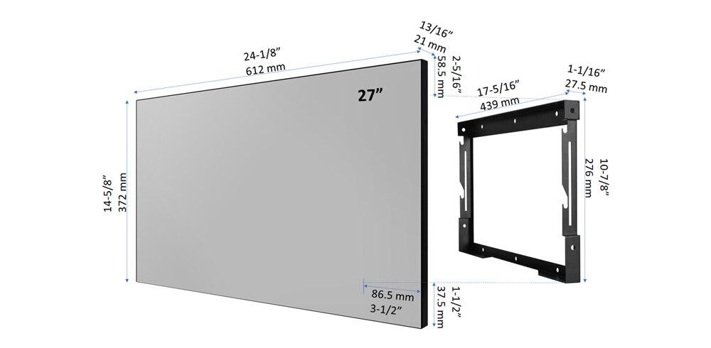 Velasting-27 Mirror-Dimensions