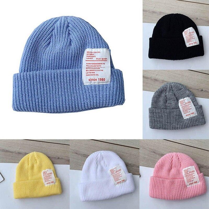 Winter Hats Cap Bonnet Knitted Warm Baby-Girls Kids Children for Casquette Wholesale