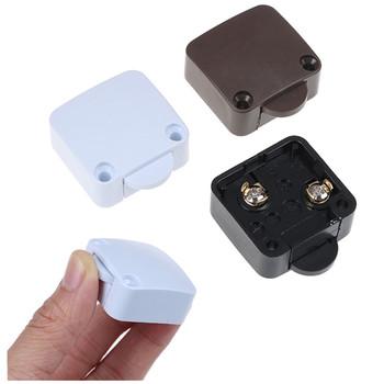 Automatyczny Reset przełącznik szafa światło szafkowe przełącznik drzwi przełącznik sterowania dom umeblowanie szafka szafka włącznik światła tanie i dobre opinie CN (pochodzenie) as shown Z tworzywa sztucznego Sliding Doors universal Switch Przełącznik Wciskany
